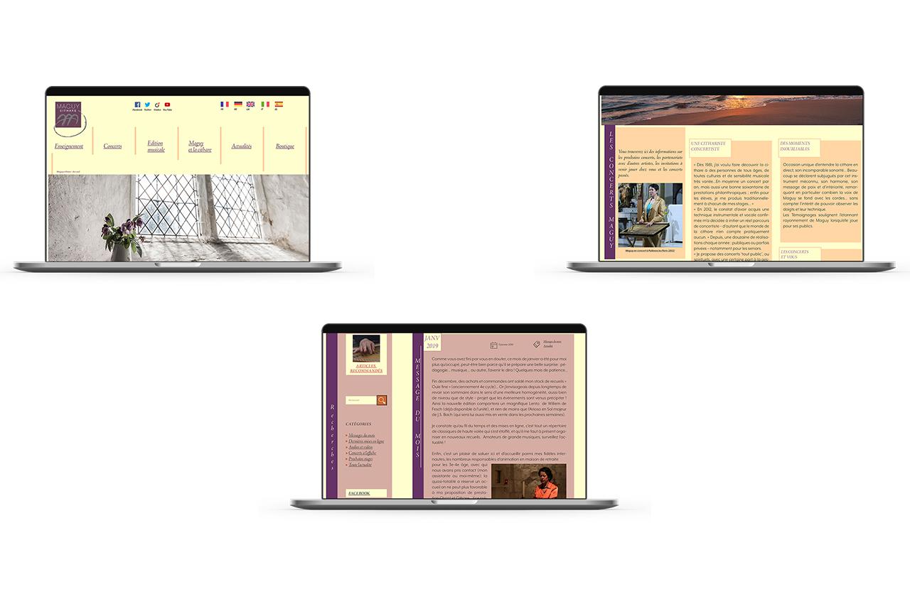 maquette desktop